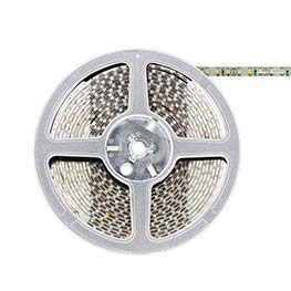 Tira LED BASIC SMD3528, DC12V, 5m (120 Led/m) - IP65, Rojo